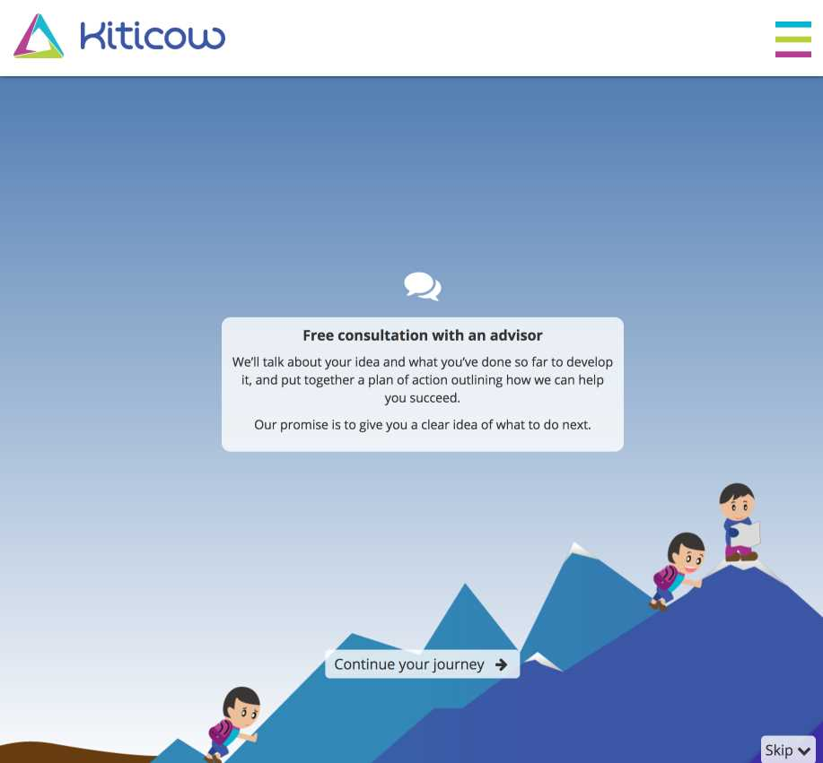 Kiticow Interactive Infographic