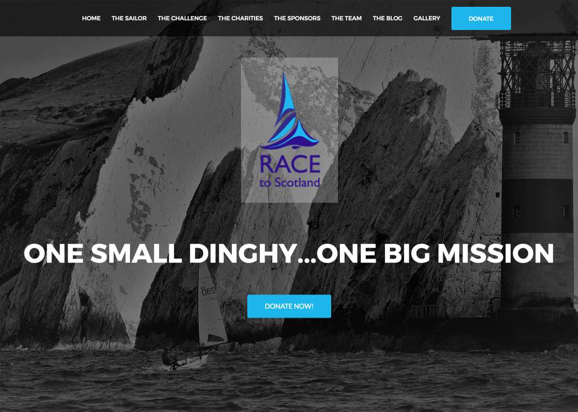 Race To Scotland Homepage